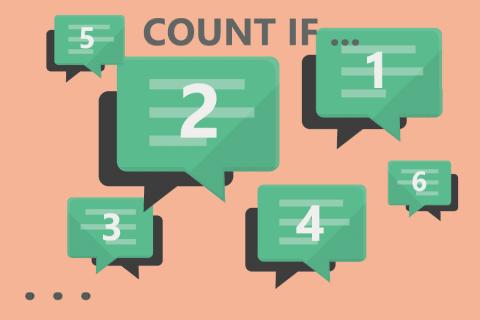 ExcelエクセルのCOUNTIF(カウントイフ)関数の使い方