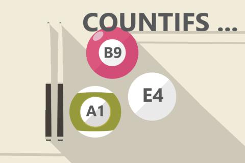 ExcelエクセルのCOUNTIFS(カウントイフス)関数の使い方